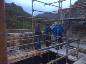 Action Shot Restoring Baravore Crusher House
