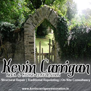 Kevin Carrigan brick and stone restoration ad